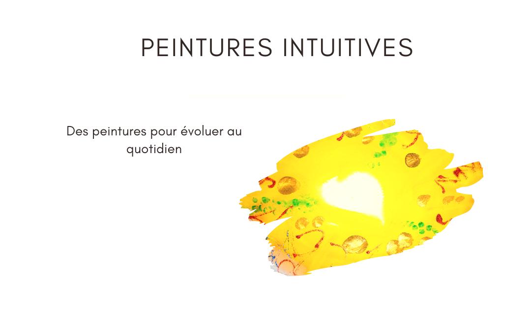 Peintures intuitives
